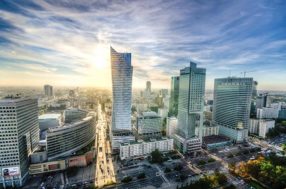 Panorama Varšava